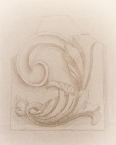 Гипсовый орнамент