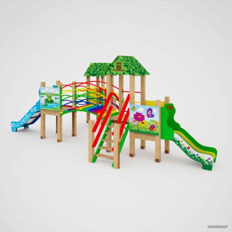 Детский игровой комплекс «Радуга»