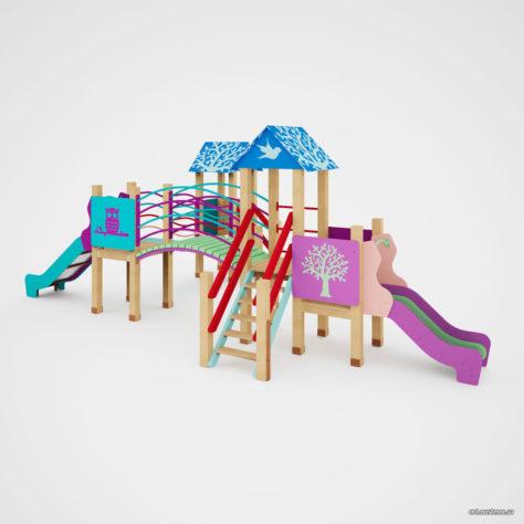 Детский игровой комплекс «Силуэт»