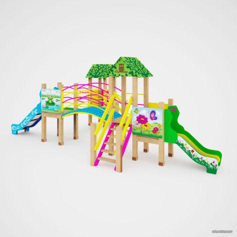 Детский игровой комплекс «На лугу»