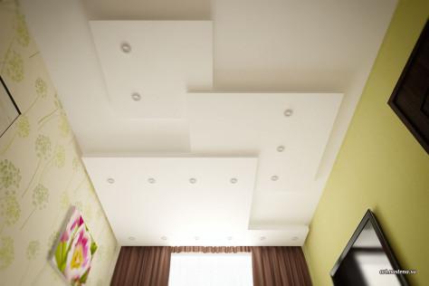 Вариант 3. Многоуровневый потолок